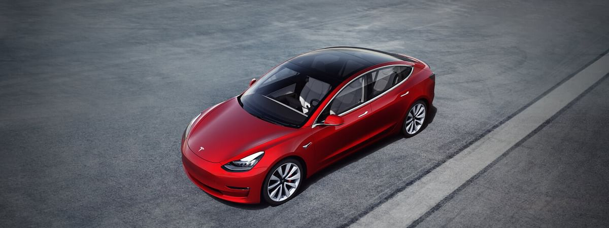 Tesla Model 3 Available Now for $35,000