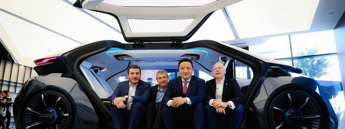 Made in UAE  Autonomous Car Unveiled at Auto Shanghai