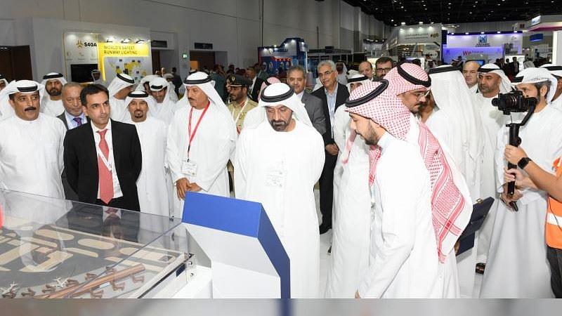 HH Sheikh Ahmed bin Saeed Opens  Airport Show in Dubai