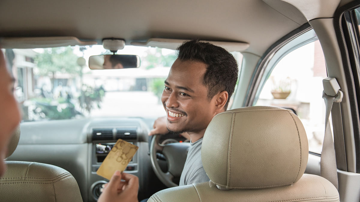 Now Swipe to Pay  for Dubai Taxis