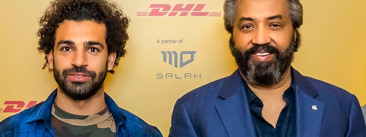 DHL Express Hosts Mohammed Salah in Dubai