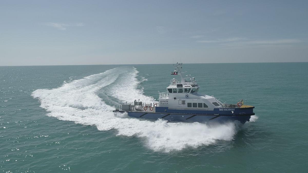 UAE's Grandweld Shipyards Delivers 4 Crew Boats to Kuwait Oil Company