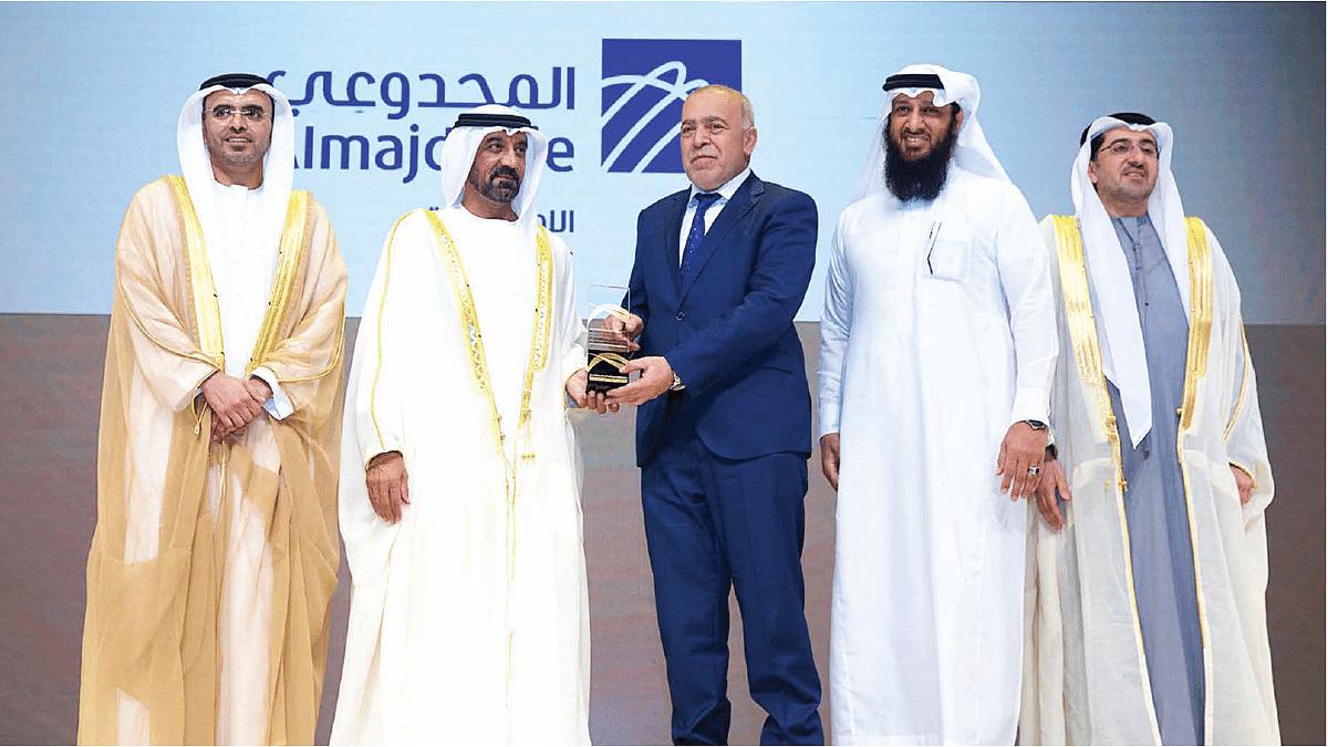 Almajdouie Logistics Wins Business Innovation Award