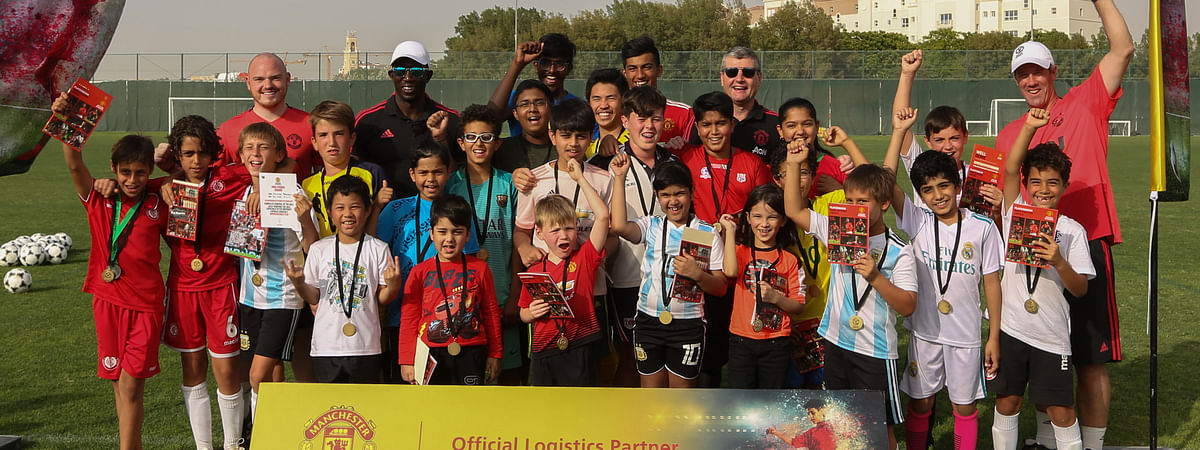 DHL Express Partners with  Manchester United Soccer Schools