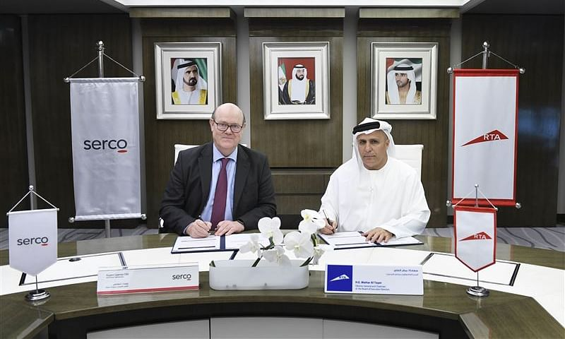 RTA Renews Dubai Metro Contract with Serco