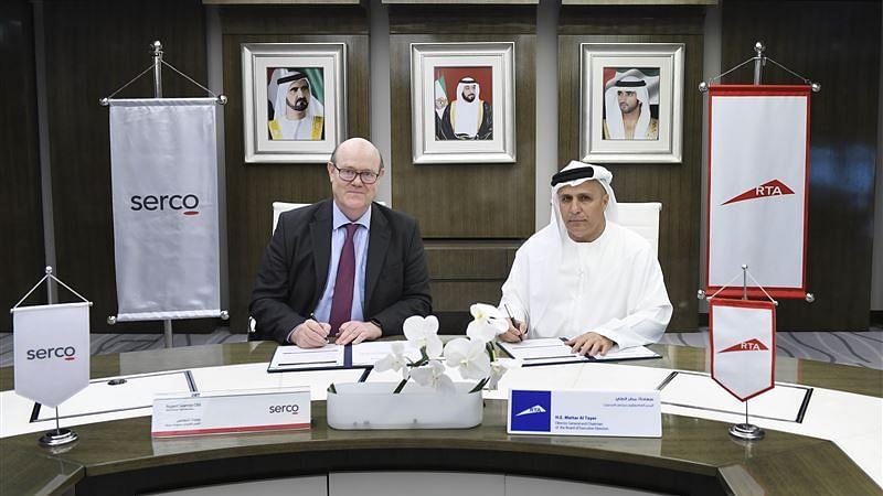 RTA Renews Dubai Metro Contract with Serco