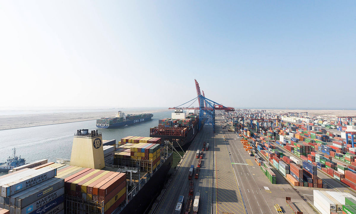 Suez Canal Container Terminal Gets Better Connectivity