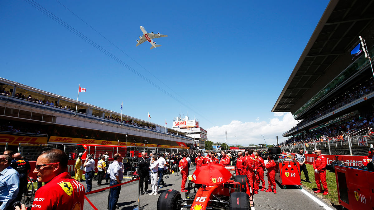 """Emirates A380 Takes """"Pole"""" Position at Spanish Grand Prix"""