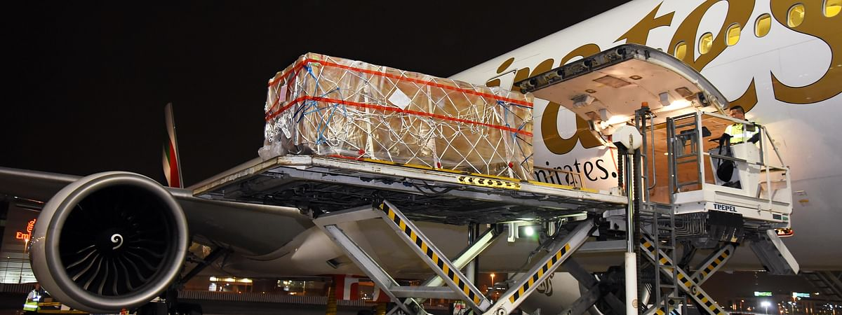 Watch: Emirates SkyCargo Transports Priceless Historical Artefact