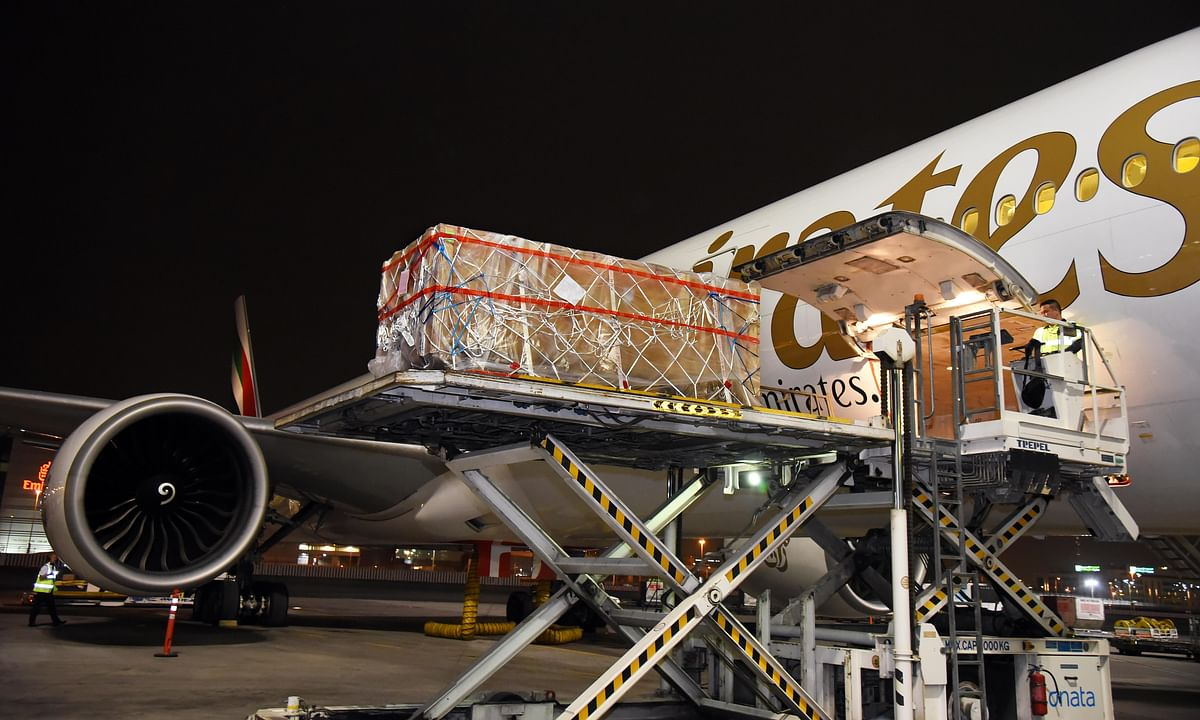 Watch: Emirates SkyCargo Transports Priceless Historical Artefact