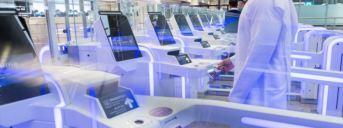 128 Smart Gates at DXB Process Border Control in Seconds