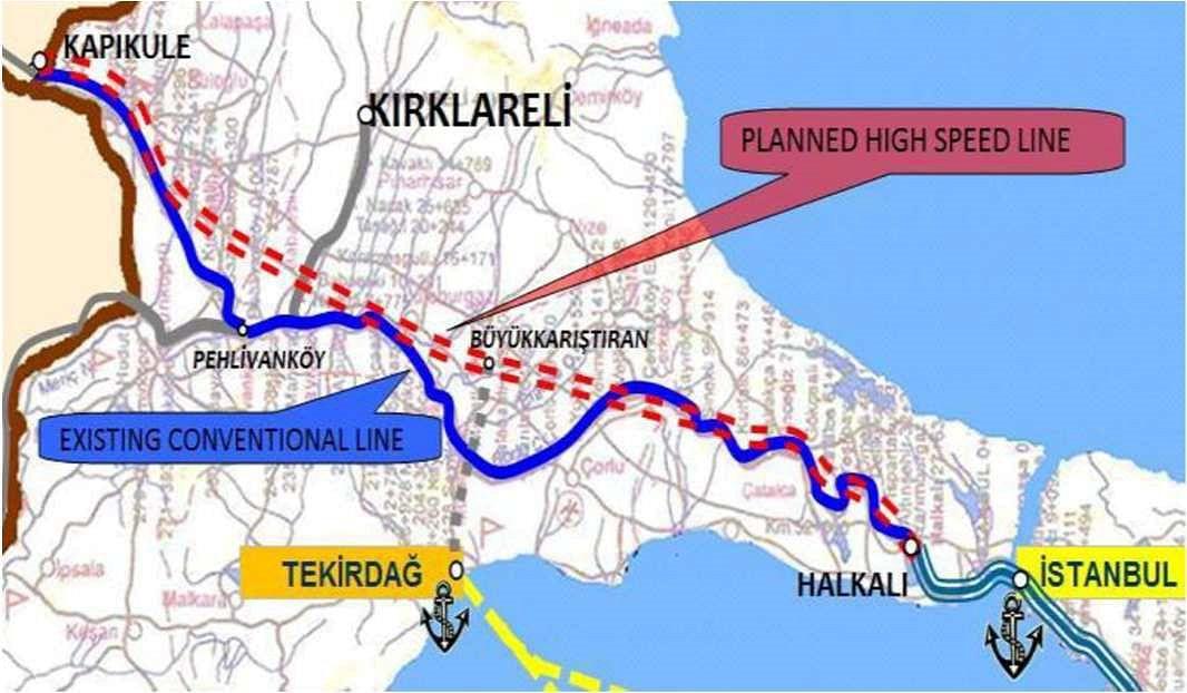 Salini Impregilo to Build High-Speed 'Orient Express' in Turkey