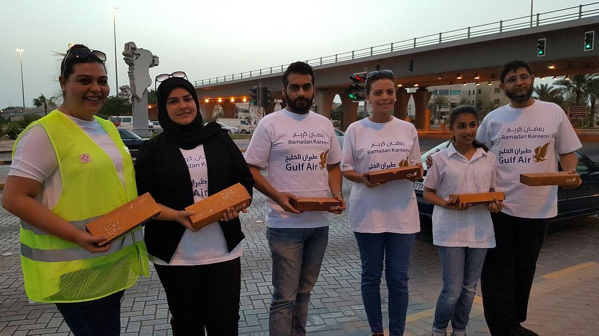 Gulf Air Kicks Off Annual Ramadan Iftar