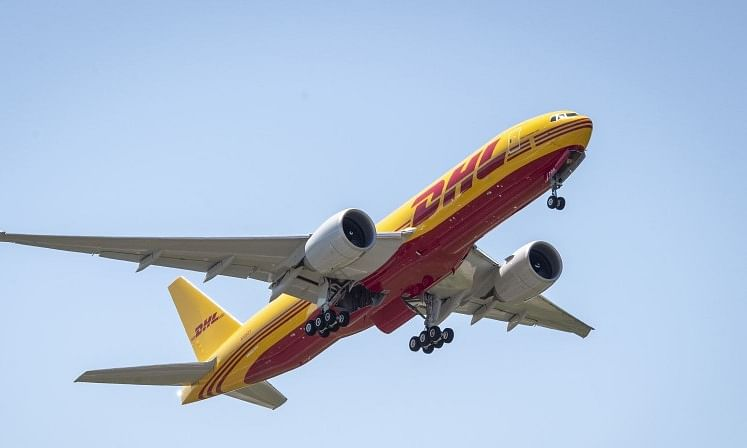 DHL's First New Boeing 777 Freight Completes Maiden Flight