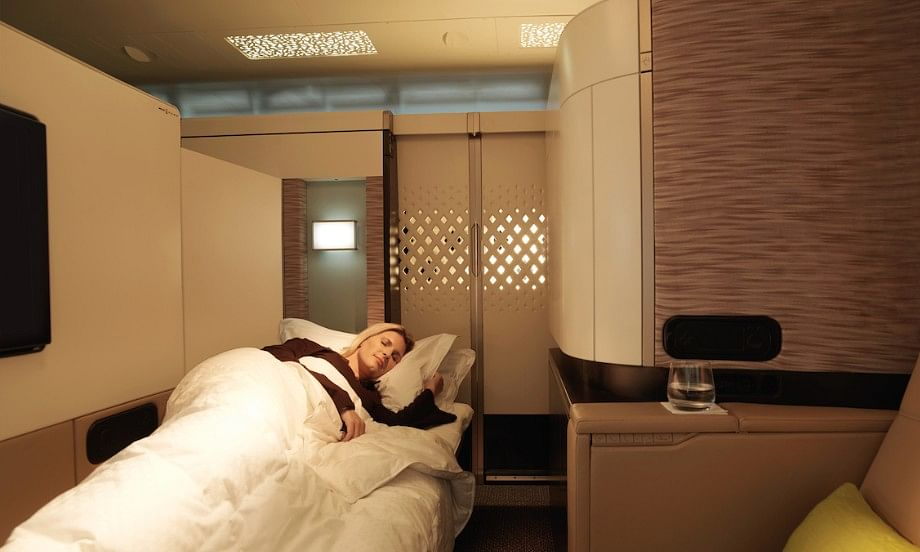 Etihad Awarded 'Best First Class' by Condé Nast Traveller  China