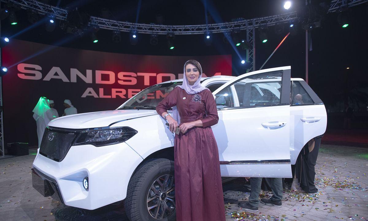 Meet 'Al Reem': The First Made in UAE  4X4 SUV