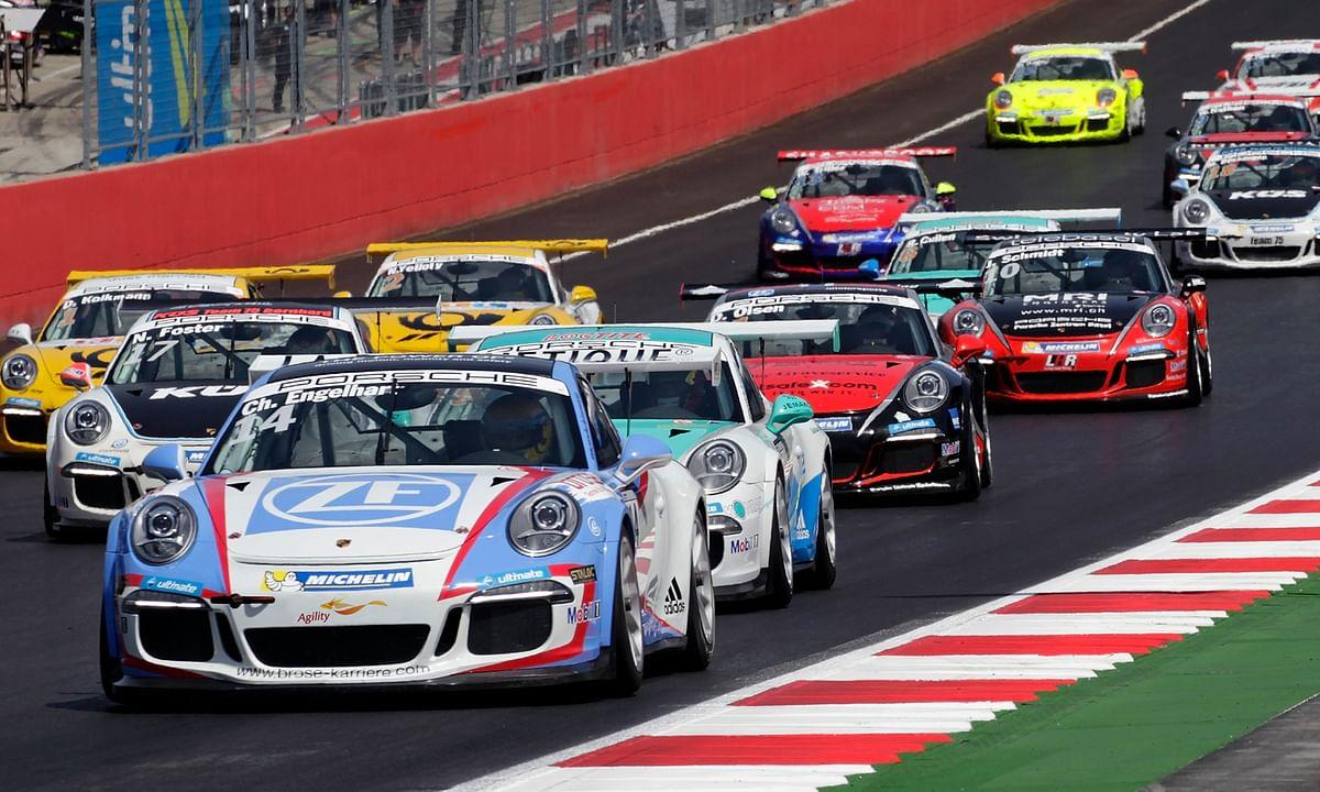 Agility Signs Porsche Carrera Cup Asia Partnership