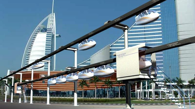 RTA and skyTran sign MoU for Suspended Transport Systems