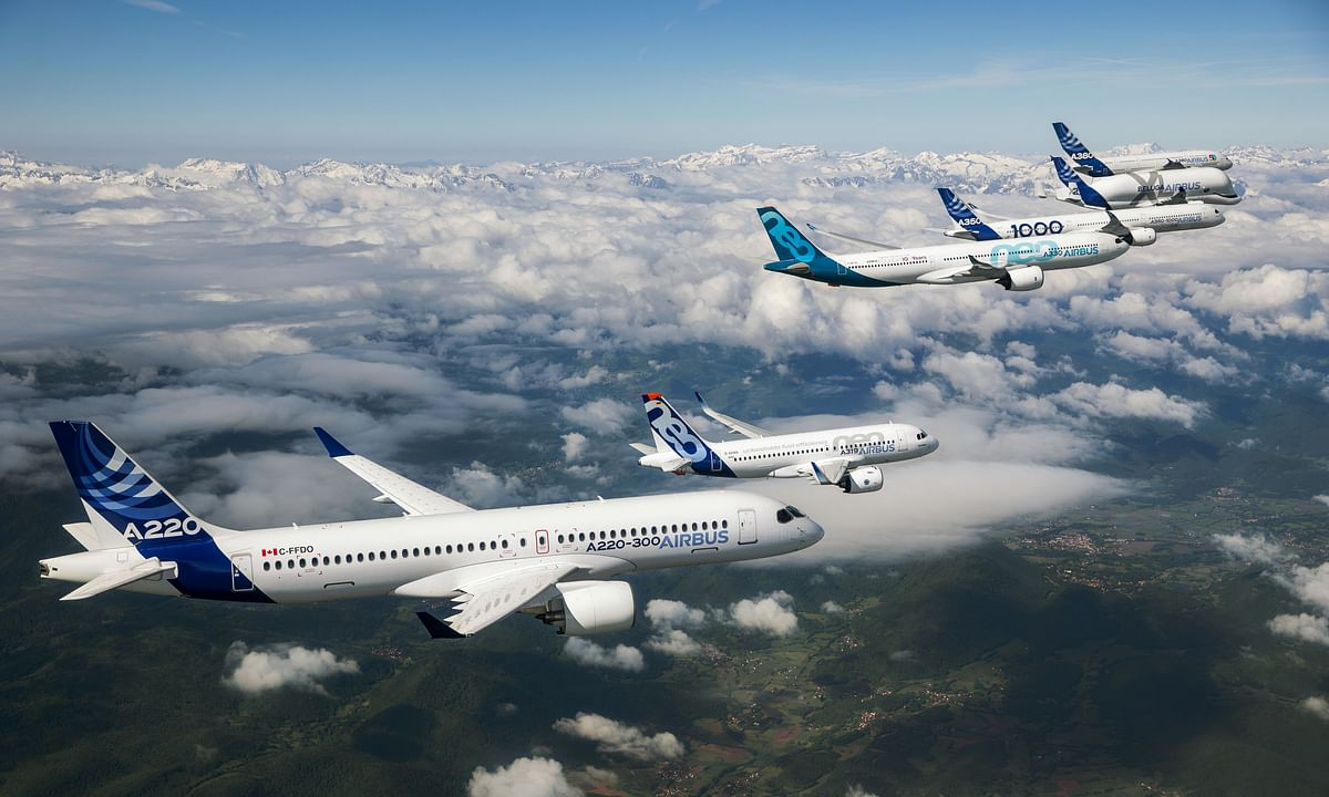 Airbus Sees Strong Demand for New Commercial Aircraft