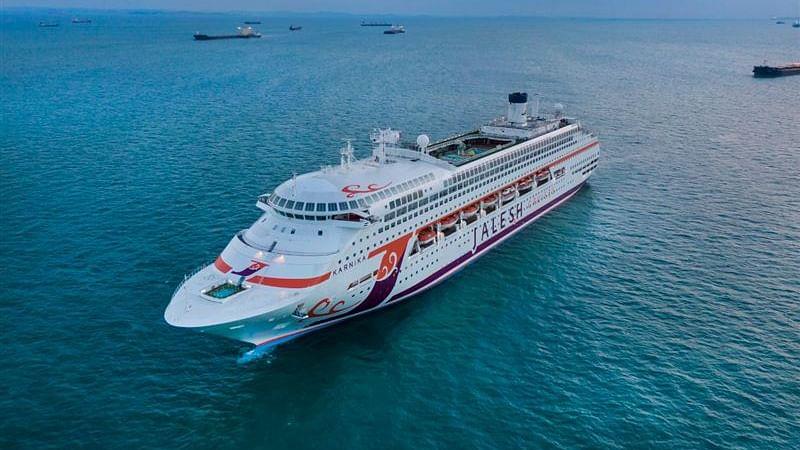 Dubai Welcomes 'Karnika', India's First Premium Cruise Ship