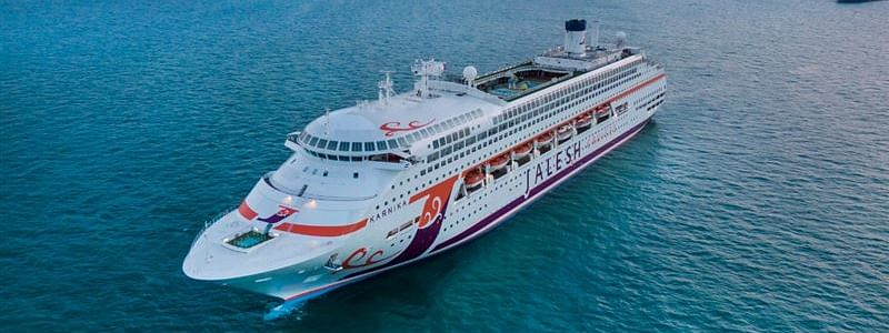 Dubai Welcomes 'Karnika', India's First Premium Cruise Ship