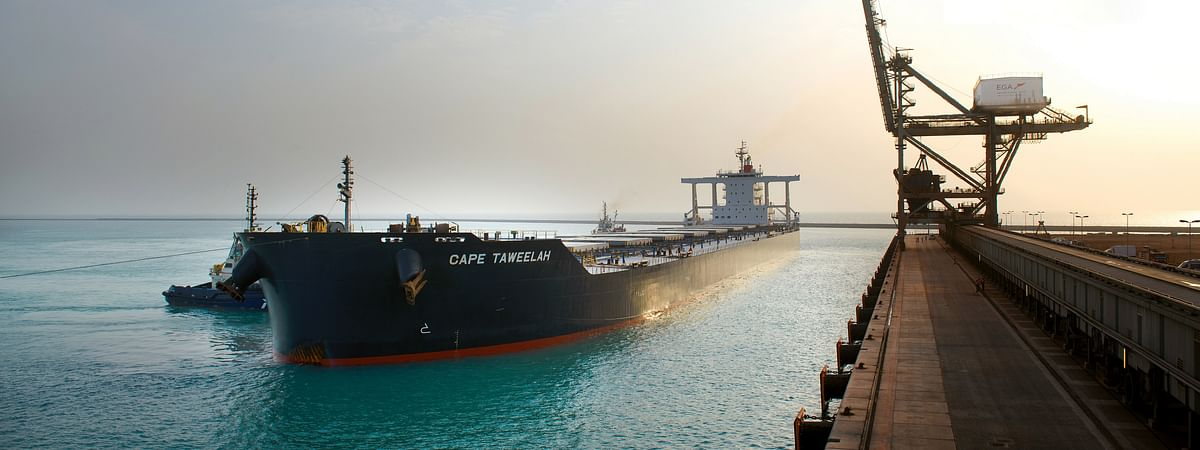 Khalifa  Port Welcomes its Largest Ever Bulk Cargo Ship