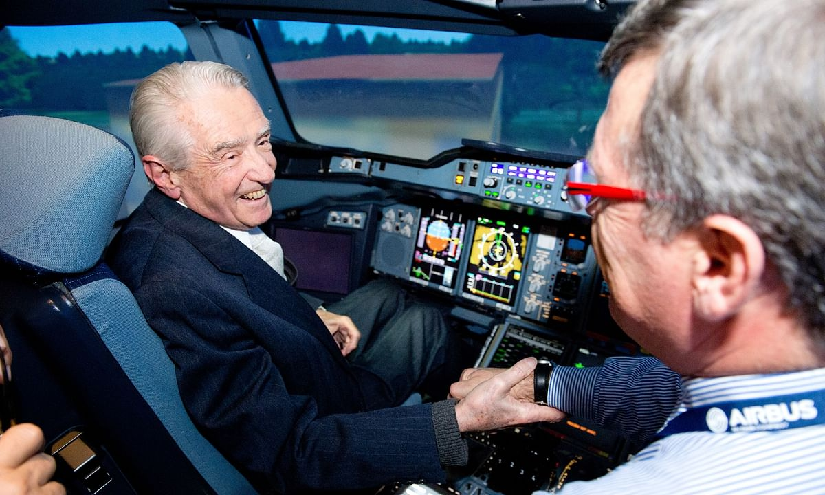 Airbus Founding Father Roger Béteille Passes Away