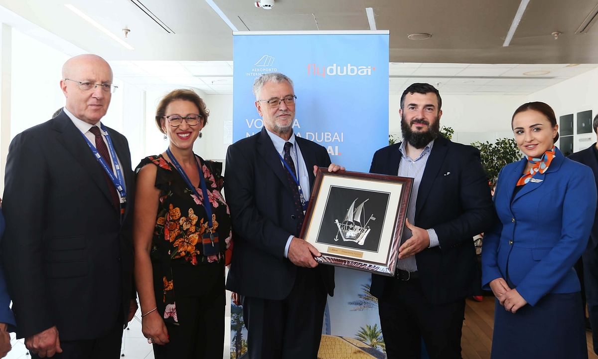 flydubai's Inaugural Flight Lands in Naples