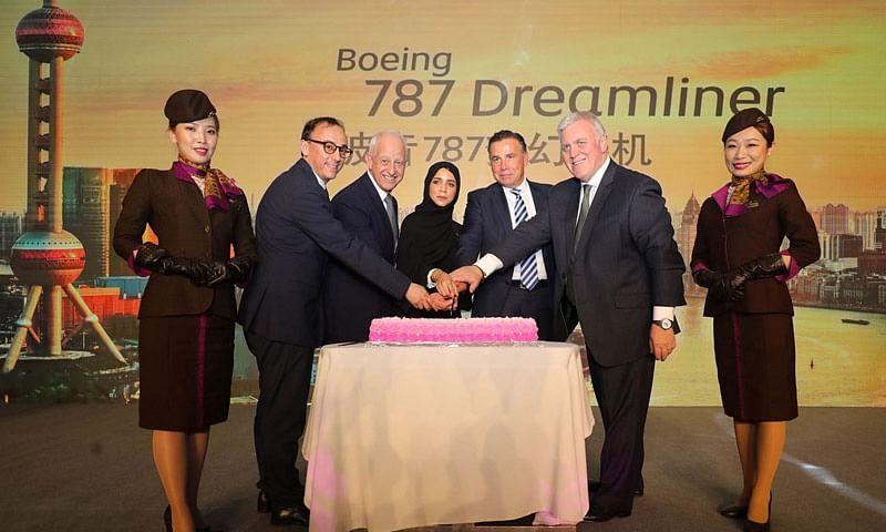 Etihad Celebrates Start of  Dreamliner Services to Shanghai