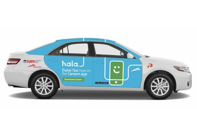 RTA, Careem Officially Launch 'Hala' e-Hailing Service in Dubai