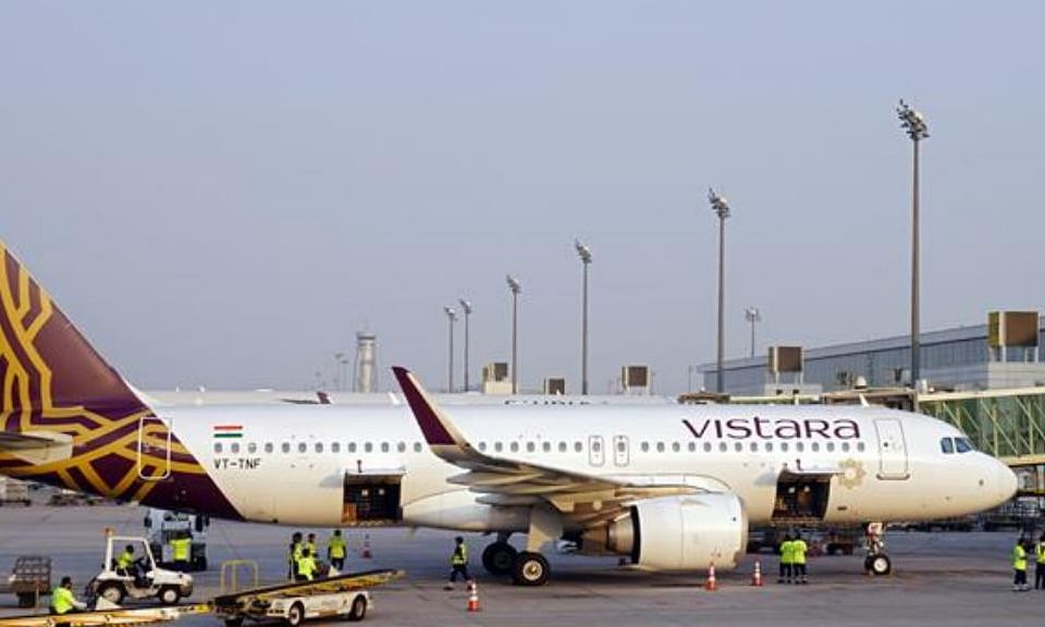 DXB Welcomes Vistara's Inaugural Flight from Mumbai