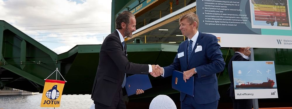 Jotun Signs 42-Vessel HPS Contract with Wallenius Wilhelmsen