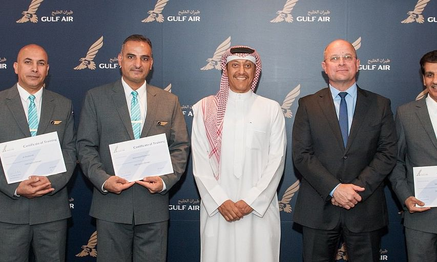 Gulf Air Promotes 5 Bahrainis to Cabin Service Managers