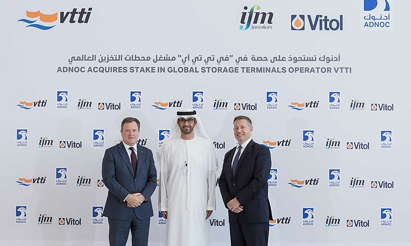 ADNOC Acquires 10% Stake in VTTI Oil Storage Terminals