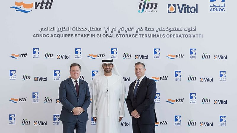 ADNOC Acquires 10% Stake in VTTI Oil Storage Terminals