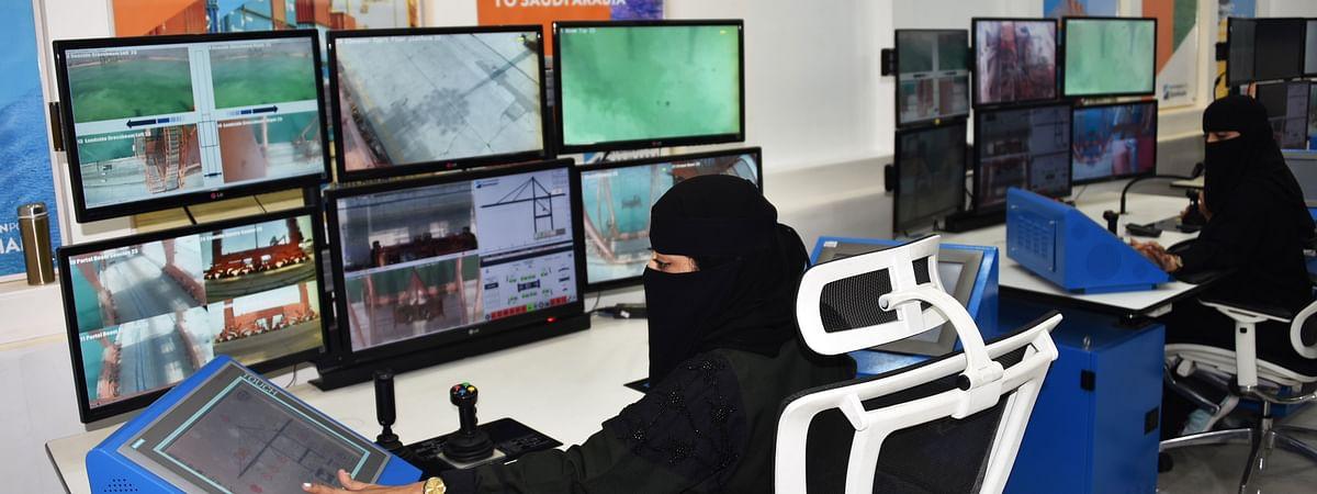 Hutchison Ports Dammam Innovates with Female Crane Operators