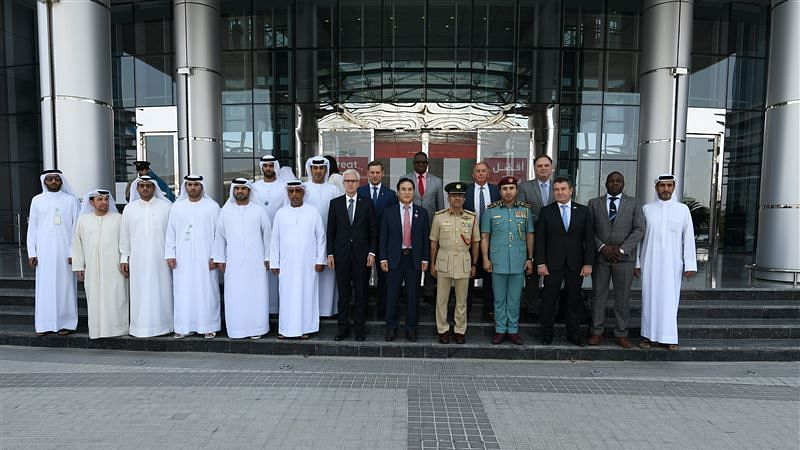 Dubai Police welcome INTERPOL President