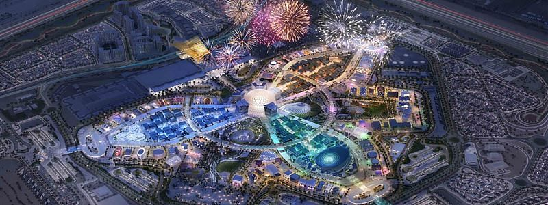 Al Wasl Dome for Expo 2020 Lifted into Place