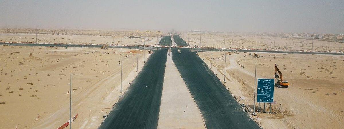 Bani Yas - Al Heeliya Road Inaugurated