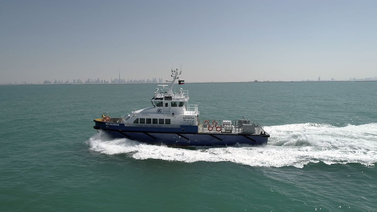 UAE's Grandweld Shipyards Successfully Concludes KOC Project