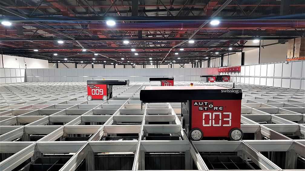 Swisslog Sets Up Automated Warehouse for Axiom Telecom