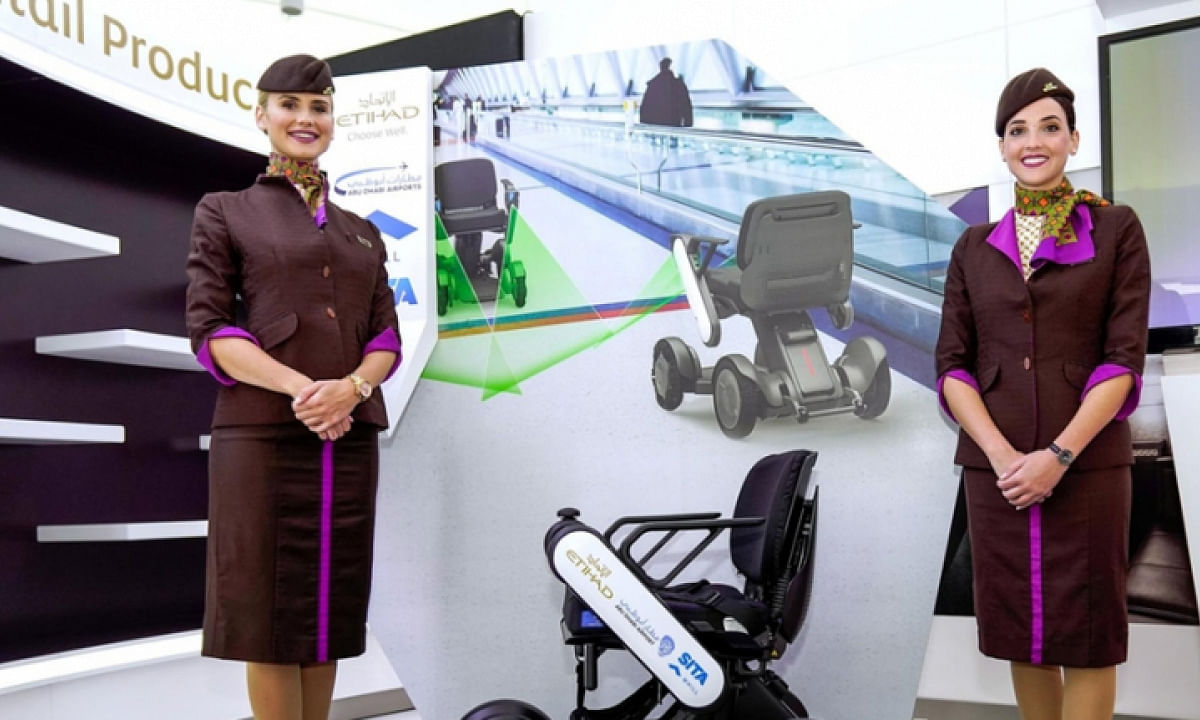 Etihad Airways, AUH Begin Trials of Autonomous Wheelchairs