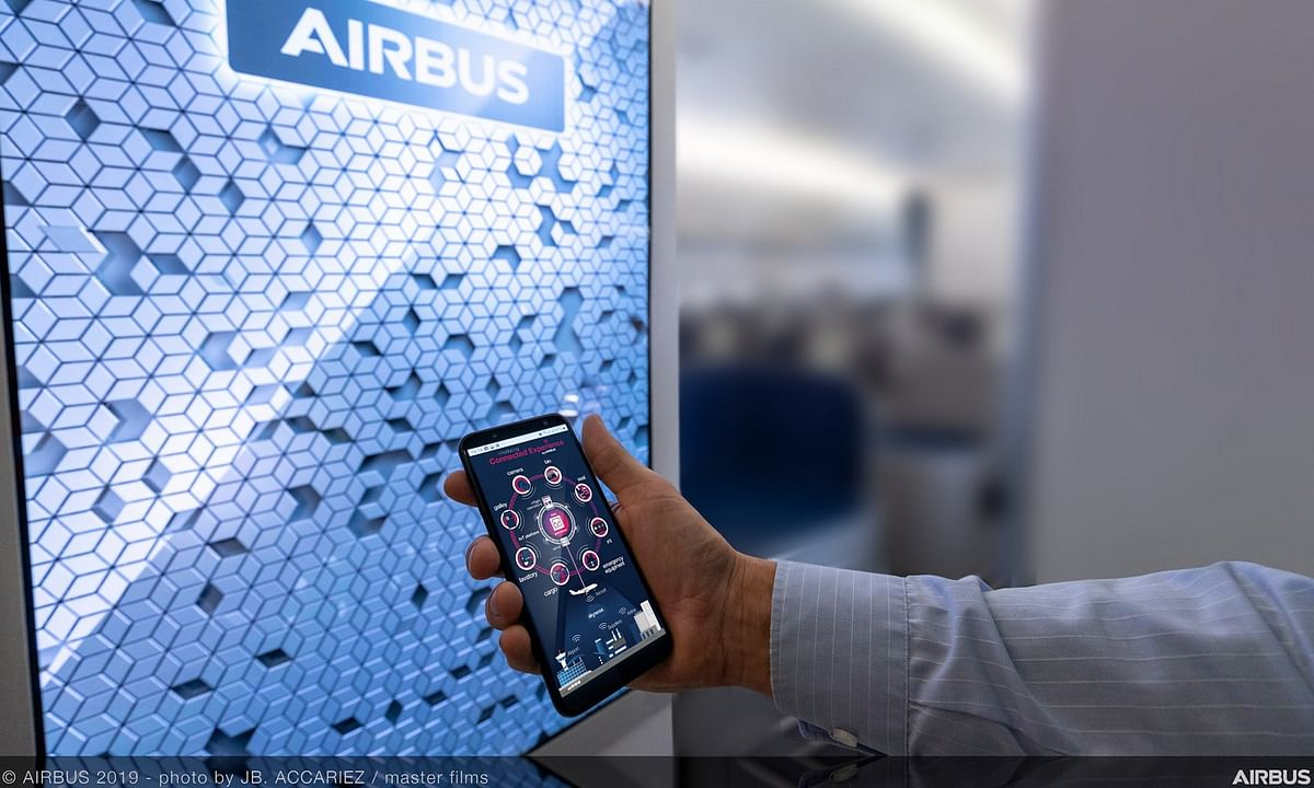 Airbus Commences In-flight Trials of Connected Cabin Technologies