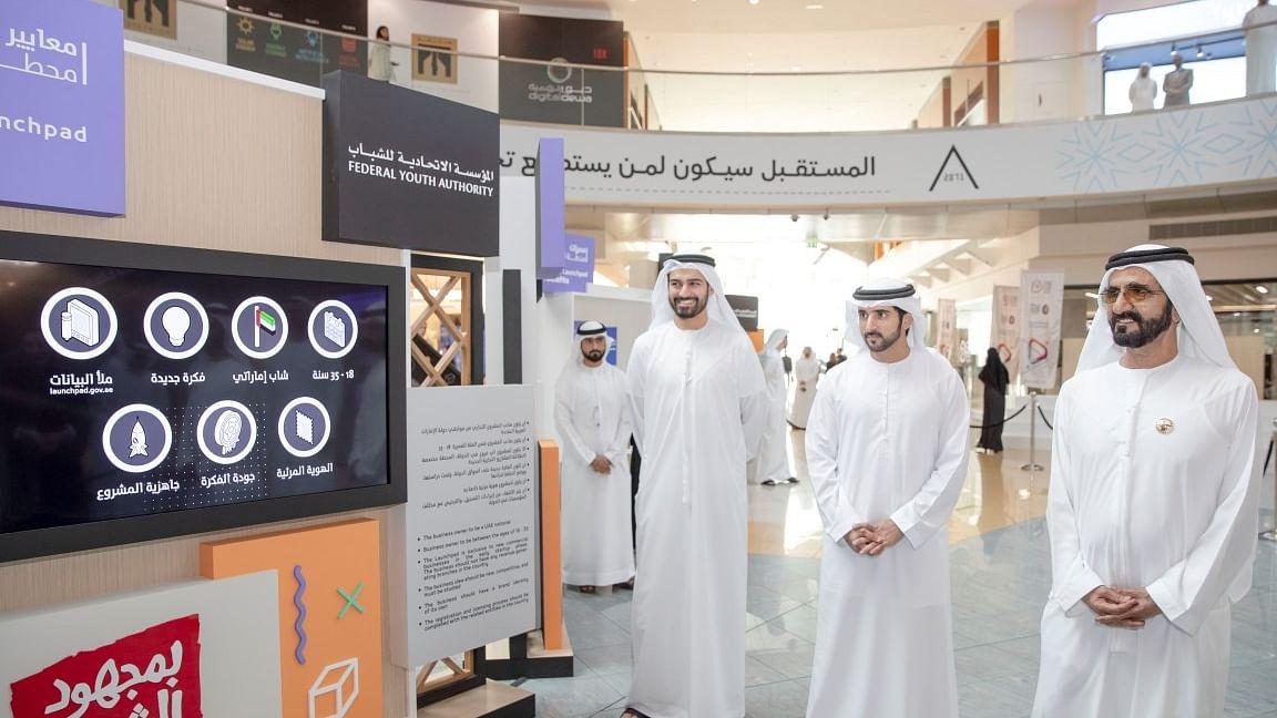 Mohammed bin Rashid Launches Open Trade Incubator