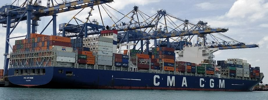 DP World Chennai Container Terminal Welcomes Largest Container Ship