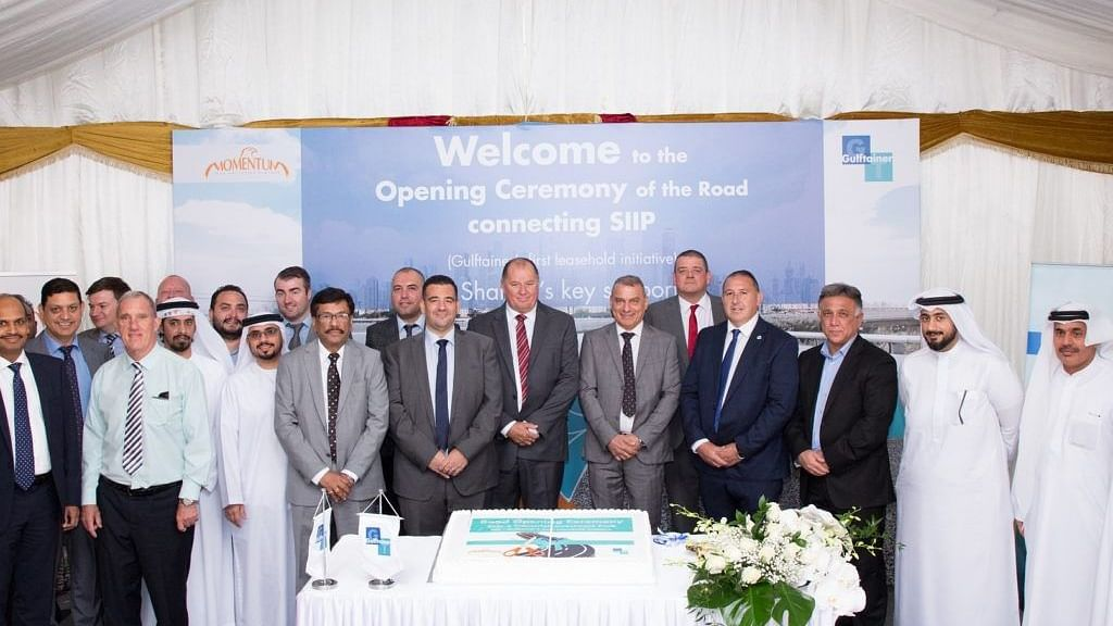 Gulftainer Completes Saja'a Access Road Project