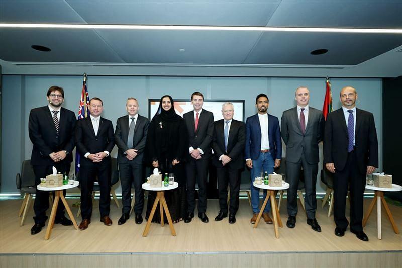 The Dubai and Australian delegations