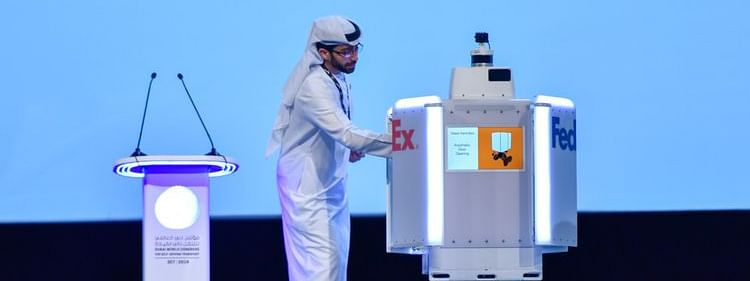 Dubai RTA & FedEx Agree 'Roxo' Robot of the Future Launch