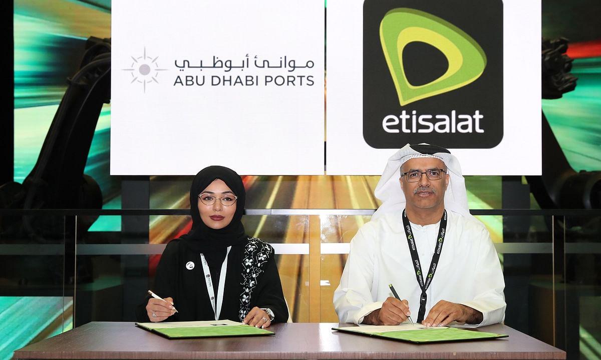 Abu Dhabi Ports and Etisalat Partner to Deliver Digital Services