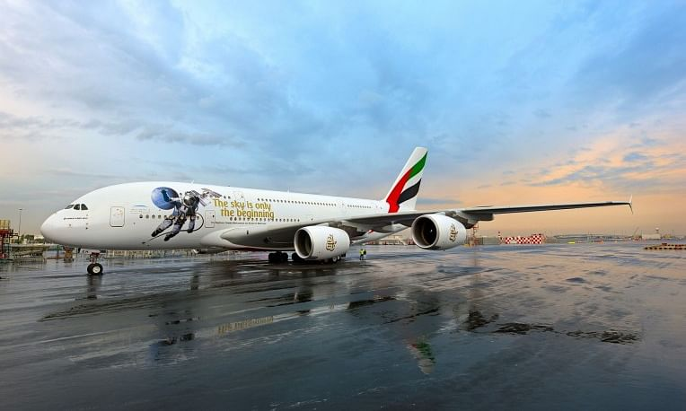 'UAE in Space Livery' Makes Debut
